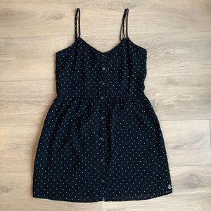 Volcom Polka Dot Button Up Dress